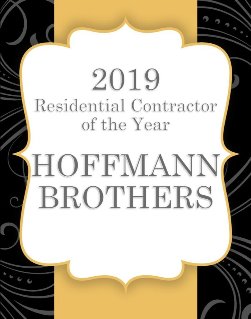 ACCA Award - Best Home Contractors St Louis - Hoffmann Brothers