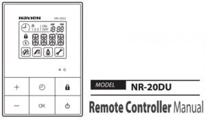 Navien Water Heater Remote Control Manual - Hoffmann Brothers