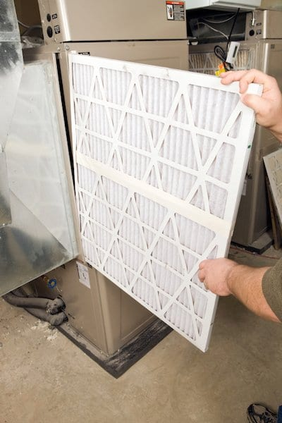 Furnace Troubleshooting - Checking Filter - Hoffmann Brothers