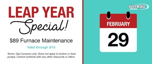 Furnace Maintenance Special Discount - Hoffmann Brothers