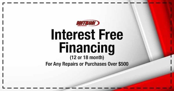 Hoffmann Brothers - Interest Free Financing