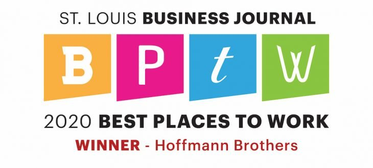 Best Places to Work Award 2020 - Hoffmann Brothers