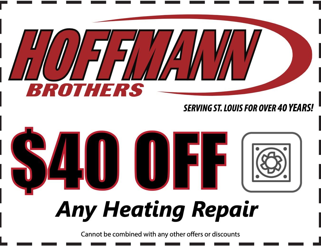 $40 off any heating repair coupon
