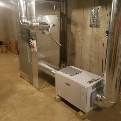 Whole House Dehumidifier installation - Hoffmann Brothers
