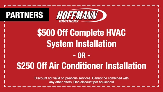 HVAC Installation Services - Coupon - Hoffmann Brothers