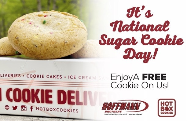 National Sugar Cookie Day Hot Box - Hoffmann Brothers