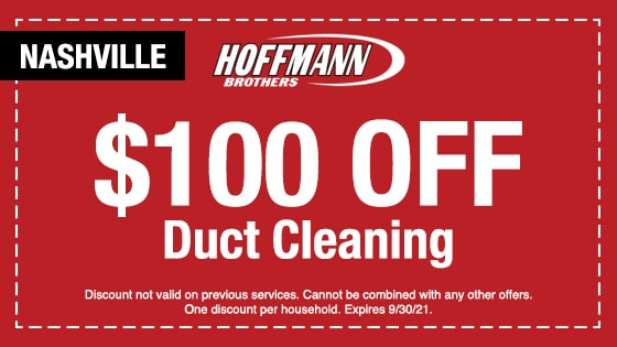 Discount Air Duct Cleaning - Nashville, TN - Hoffmann Brothers