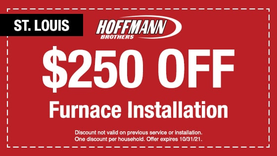 Discount St Louis Furnace Installation - Hoffmann Brothers